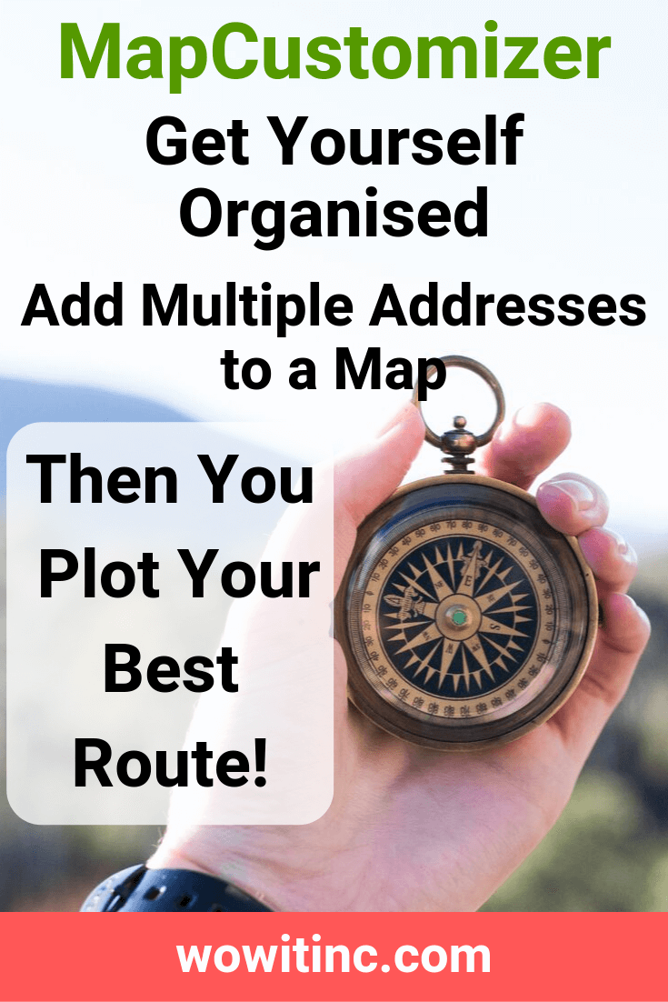 MapCustomizer Map Plotting - Best Order for Routes | WOWIT ... on map demographic information, map of new york, map people, map mobile, map of la, map statistics, map services, map routes, map logos, map of near macy's nyc, map headings, map phones, map multiple address,